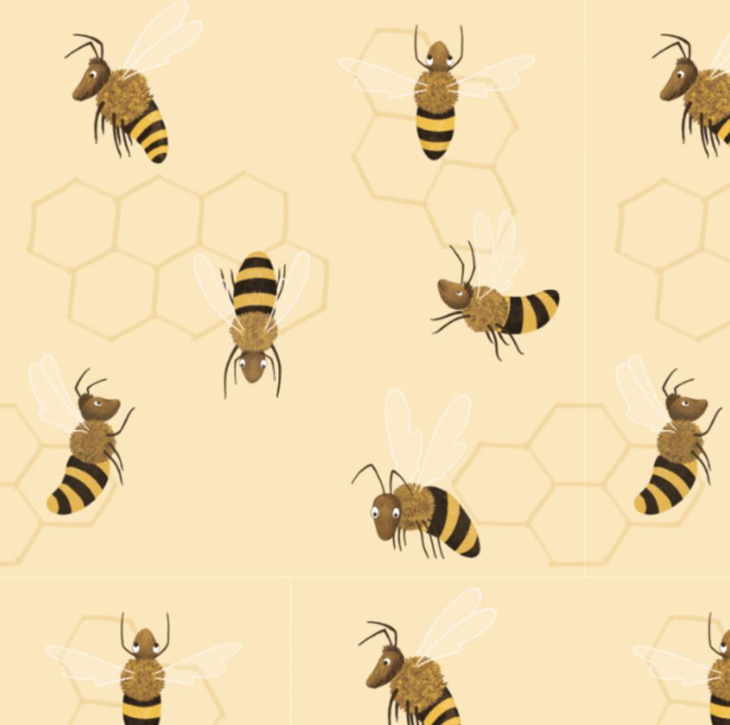 Bijen_kadopapier_merelvanlamoen